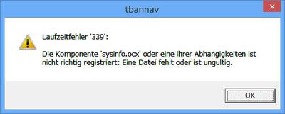 Tbanonwin8error